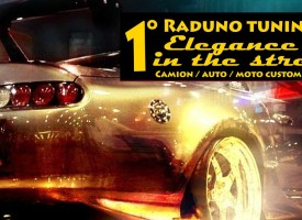 1°Raduno Tuning Elegance in the street