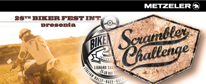 Rumble Challenge Scrambler biker fest 2014