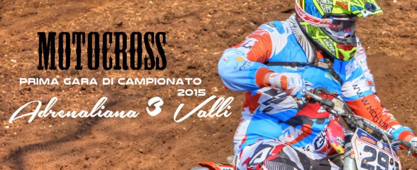 """Crossodromo """"ADRENALINA TRE VALLI"""" Prima gara di campionato 2015"""