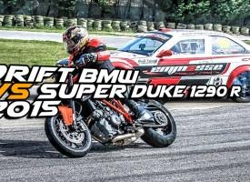Drift Bmw vs Super Duke 1290 r 2015
