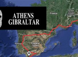 Athens – Gibraltar 9000 KM attraversando l'Europa