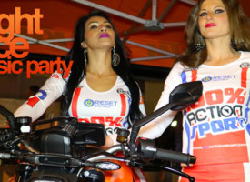 NIGHT RACE music party della 100% ACTION SPORT