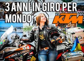 ANNA in giro per il mondo da 3 anni con una KTM