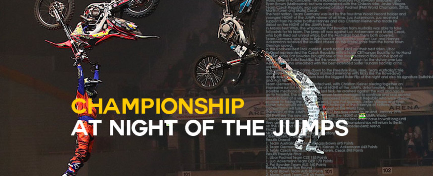 Championship NIGHT of the JUMPs
