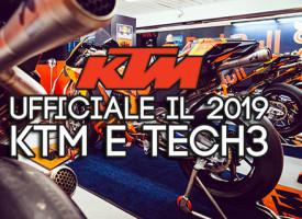 KTM e Tech3 annunciano una partnership dal 2019